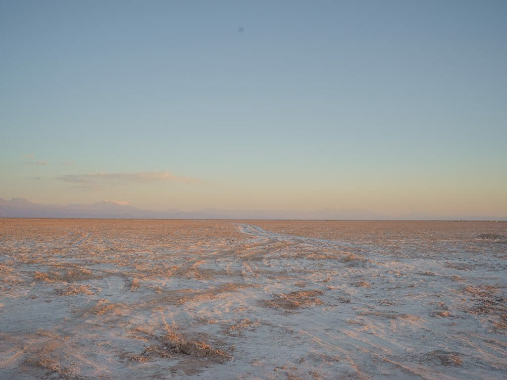 Sunset in the Salt Plains Atacama Desert Chile Desert Solitude: Portrait of Hasselblad Heroine Chiara Zonca - EAT LOVE SAVOR International luxury lifestyle magazine and bookazines