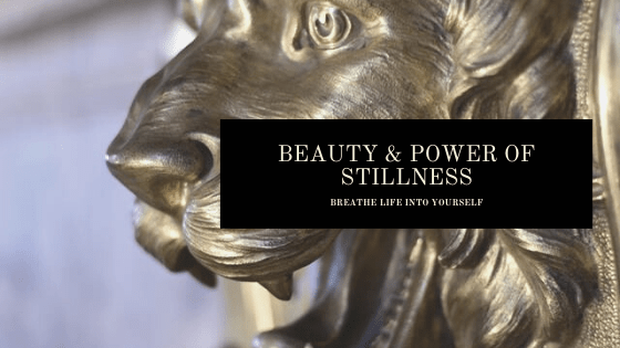 BEAUTY POWER OF STILLNESS Banner The Beauty and Power of Stillness: Tips for Slipping Into Stillness EAT LOVE SAVOR International luxury lifestyle magazine and bookazines