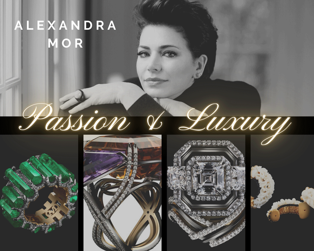 Alexandra Mor Passion and Passion and Luxury with Alexandra Mor - EAT LOVE SAVOR International luxury lifestyle magazine and bookazines