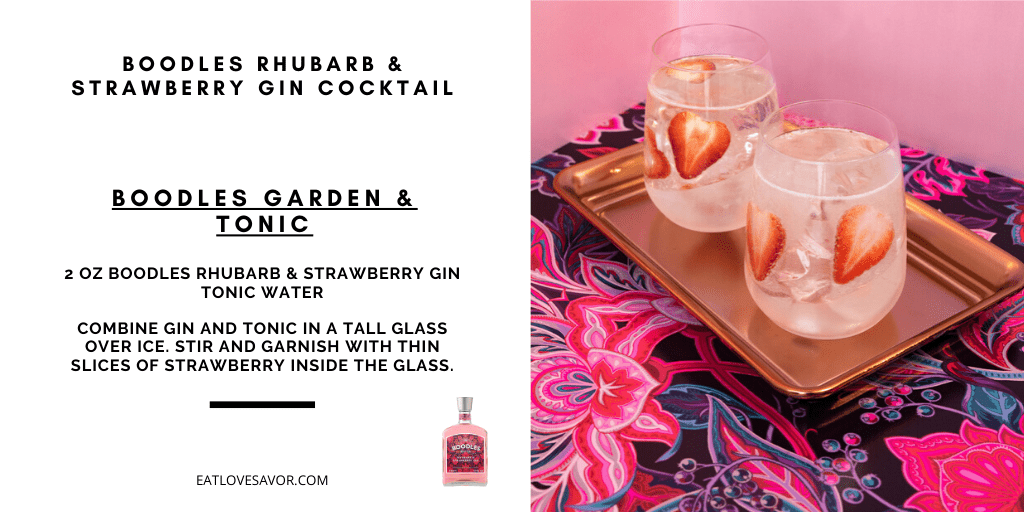 Boodles Pink Gin 20201