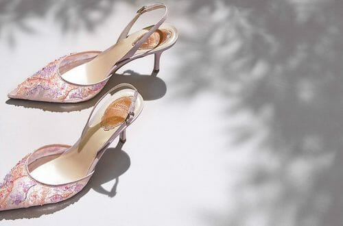 rene caovilla slingback banner lungo 2605 Editor Selects:  Sexy Slingback Shoes of Rene Caovilla - EAT LOVE SAVOR International luxury lifestyle magazine and bookazines