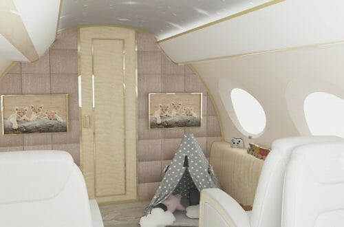 3 Nursery Jet G650 Toy Wigwam1 The World's First Flying Nursery: The height of luxury for UHNW clients families - EAT LOVE SAVOR International luxury lifestyle magazine and bookazines