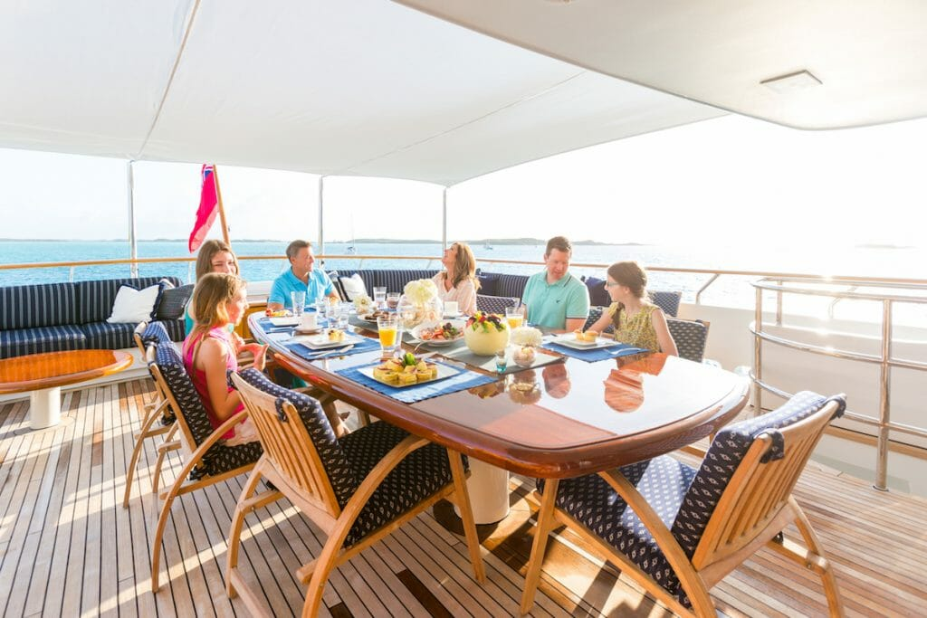 LADY J Hi 4181 credit Quin BISSET The True Bahamas Experience with Luxury Charter Yacht Lady J - EAT LOVE SAVOR International luxury lifestyle magazine and bookazines