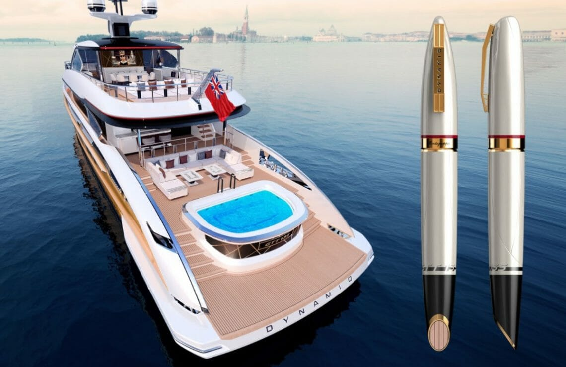 dynamic yacht and montegrappa pen Montegrappa GTT 135 a Companion Edition to Dynamiq GTT 135 - EAT LOVE SAVOR International luxury lifestyle magazine and bookazines
