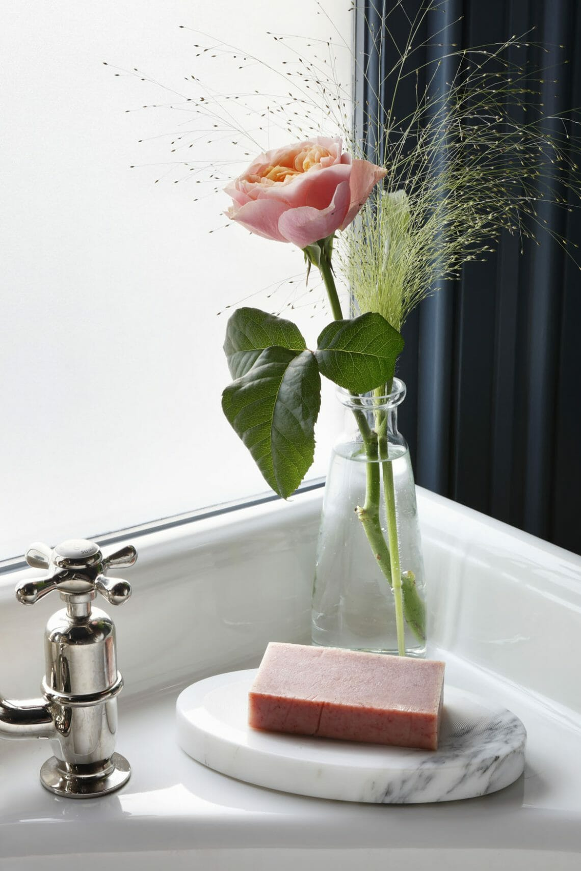 Drummonds Fox 3 LR Timeless Elegance in Bathroom Accessories: Marble Soap Dish EAT LOVE SAVOR International luxury lifestyle magazine and bookazines