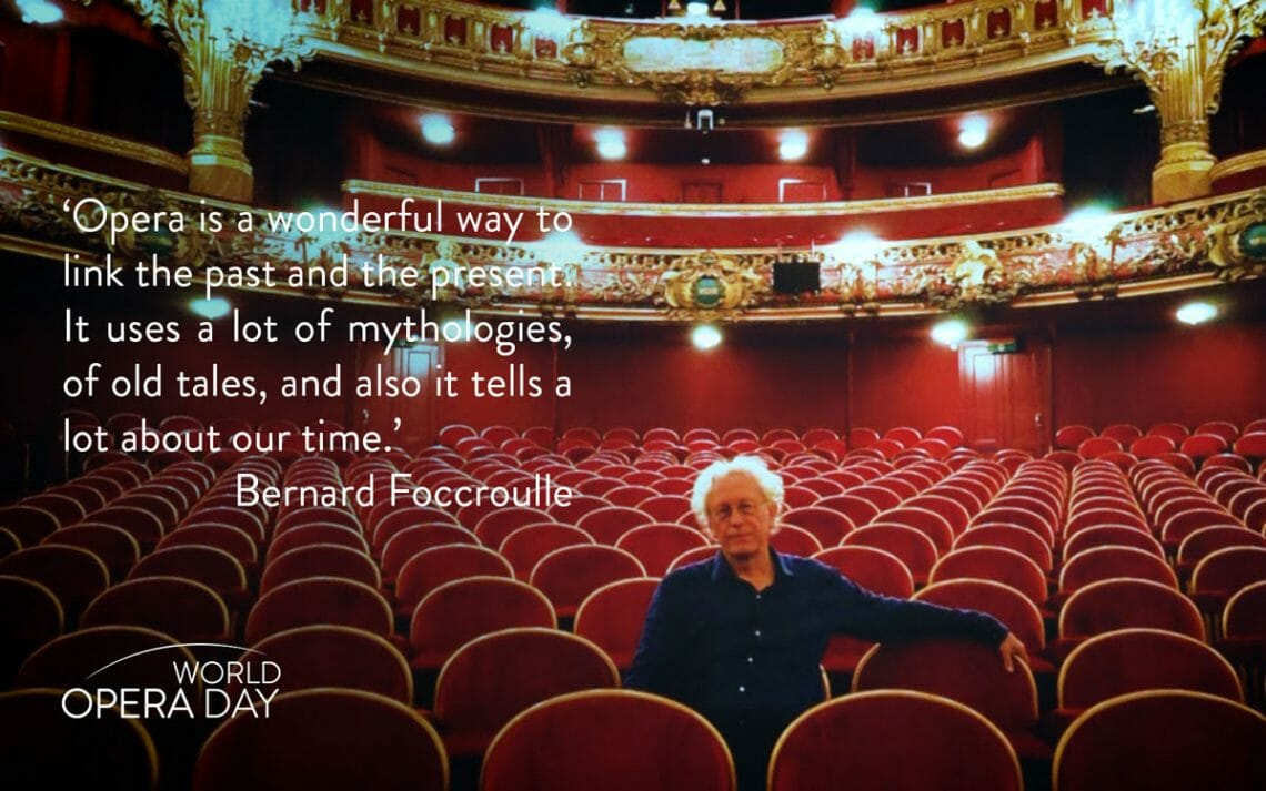 world opera day bernard foccroulle World Opera Day: The Healing Power of Music EAT LOVE SAVOR International luxury lifestyle magazine and bookazines