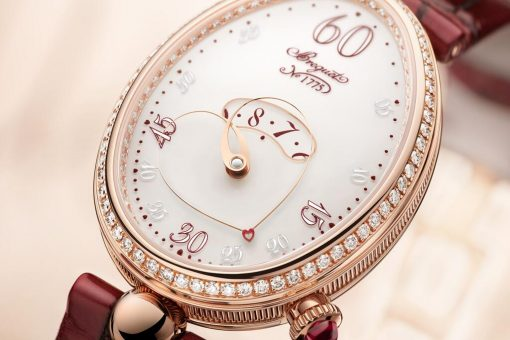 10594 A Timepiece to Capture Her Heart - Queen of Naples Heart 9825 by Breguet - EAT LOVE SAVOR International luxury lifestyle magazine and bookazines