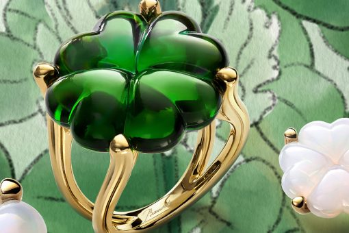 baccarat trefle green ring ambience Beautiful Baccarat Jewelry for Her - EAT LOVE SAVOR International luxury lifestyle magazine and bookazines