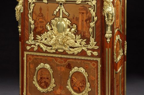 8114 Secretaire after a design by Foullett The Story of an Exquisite and Rare Antique Secretaire EAT LOVE SAVOR International luxury lifestyle magazine and bookazines