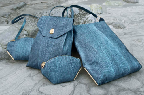 aitch aitch blue bags.jpg Discover AITCH AITCH - Innovation and Sustainability in Luxury Accessories EAT LOVE SAVOR International luxury lifestyle magazine and bookazines