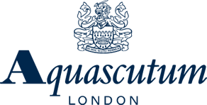 aquascutum logo The Masterful 100: Top 100 Luxury Experts and Brands List EAT LOVE SAVOR International luxury lifestyle magazine and bookazines