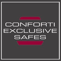 conforti exclusive safes logo The Masterful 100: Top 100 Luxury Experts and Brands List - EAT LOVE SAVOR International luxury lifestyle magazine and bookazines