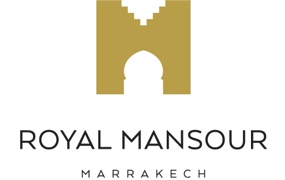 royal mansour logo white The Masterful 100: Top 100 Luxury Experts and Brands List EAT LOVE SAVOR International luxury lifestyle magazine and bookazines