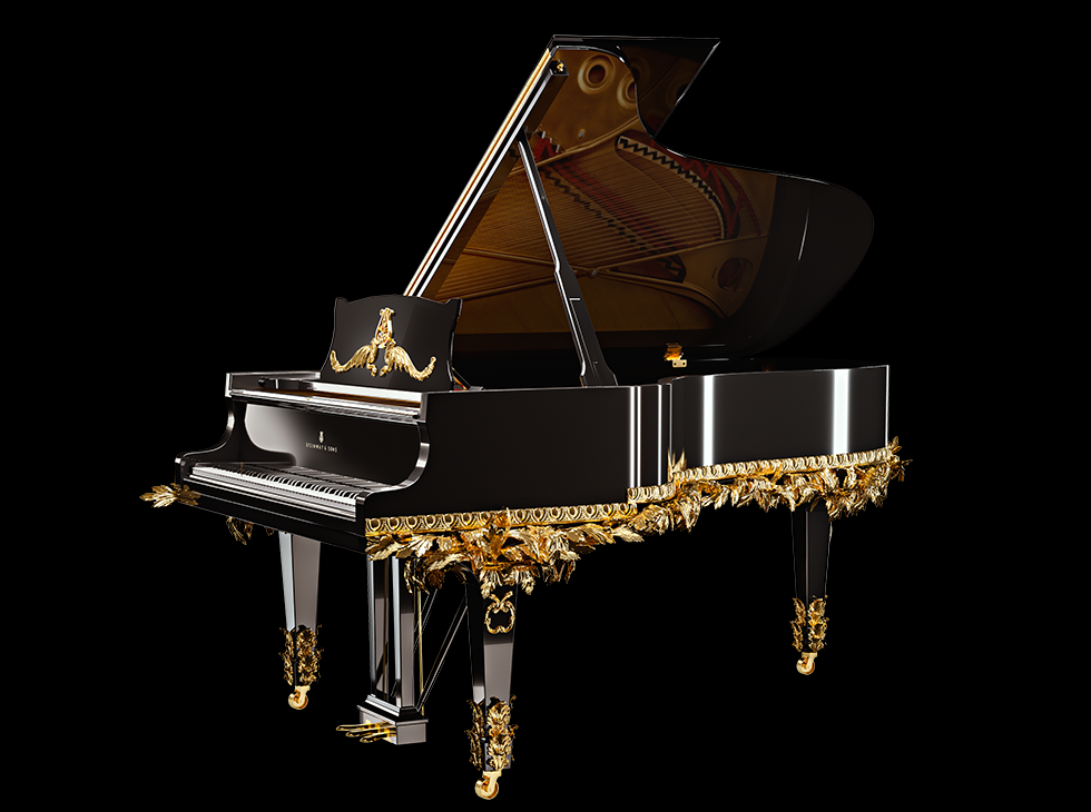 "steinway piano ACANTO 980 Steinway & Sons Launches ""Armonia Limited Edition By Baldi"" - EAT LOVE SAVOR International luxury lifestyle magazine and bookazines"