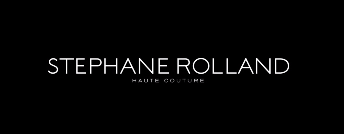 stephane rolland logo The Masterful 100: Top 100 Luxury Experts and Brands List - EAT LOVE SAVOR International luxury lifestyle magazine and bookazines